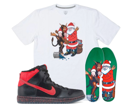 official photos d6f0d e4933 Dunk High Nike SB Krampus Collection by Sean Cliver | Dropcents