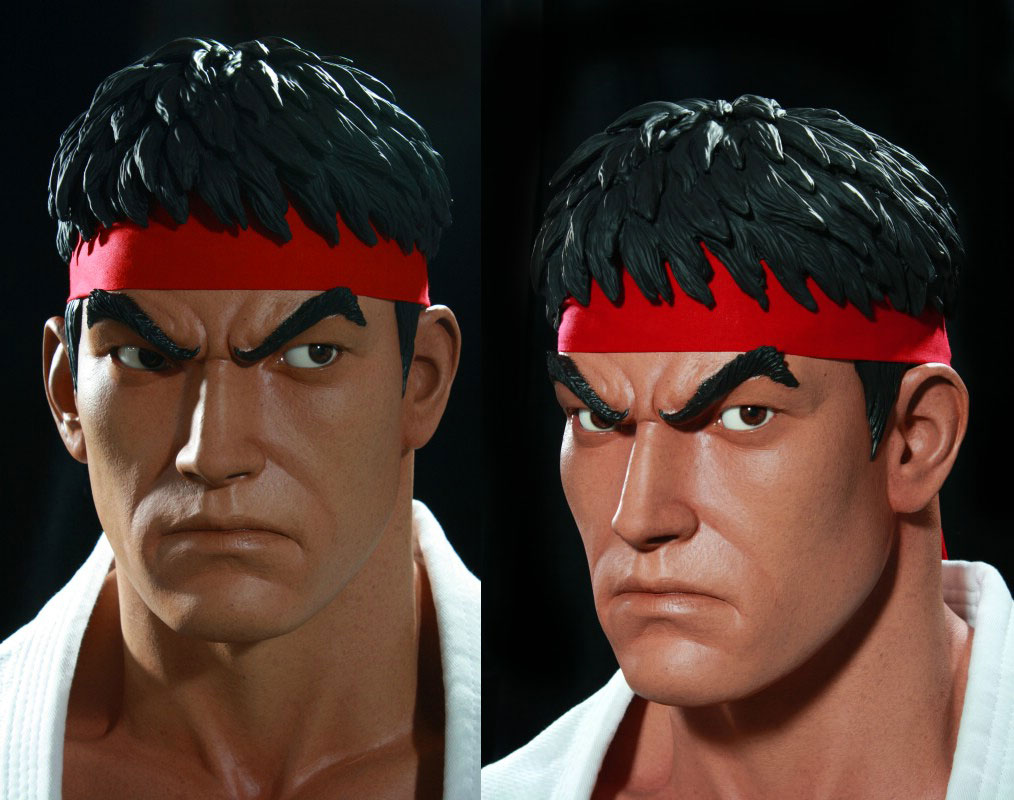 Street Fighter Life-Sized Ryu Busts by Pop Culture Shock Collectibles